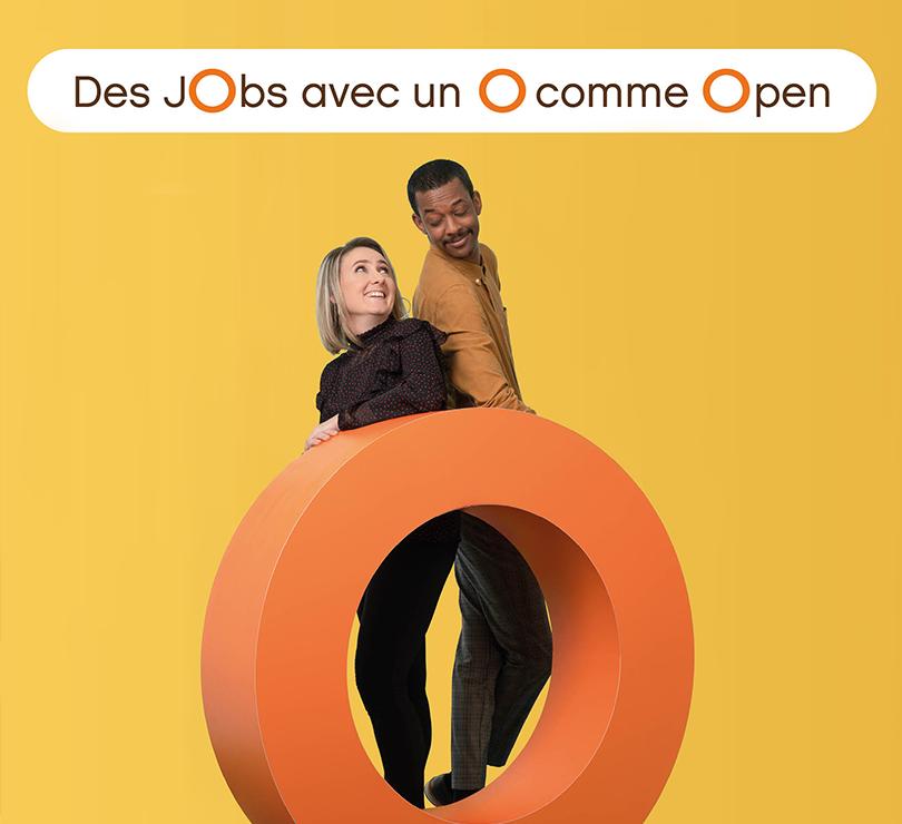Des jobs avec un O comme Open